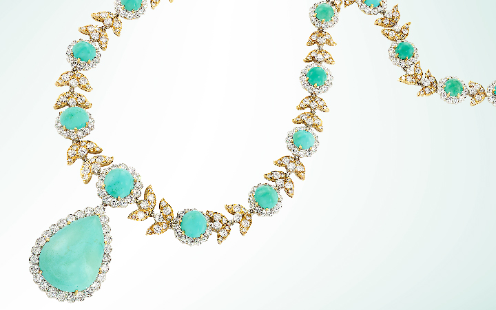 Image for the Van Cleef Turquoise Necklace sale