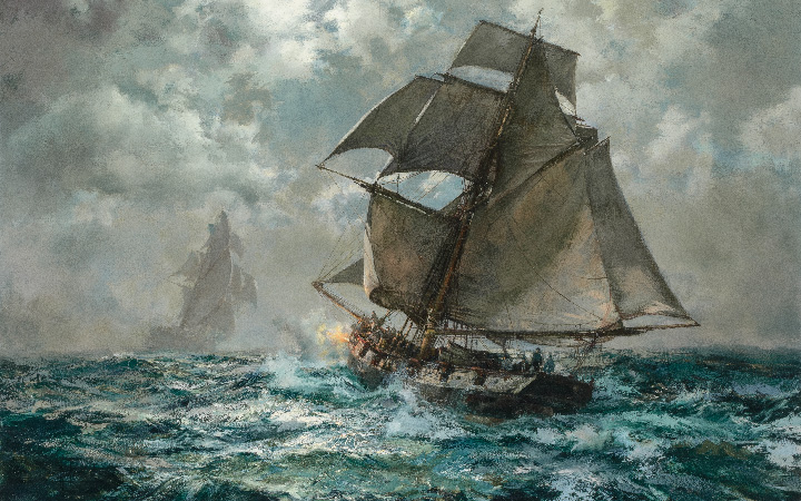 Image for the Montague Dawson sale