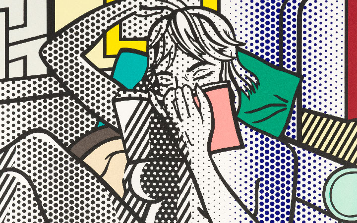 Image for the Roy Lichtenstein sale