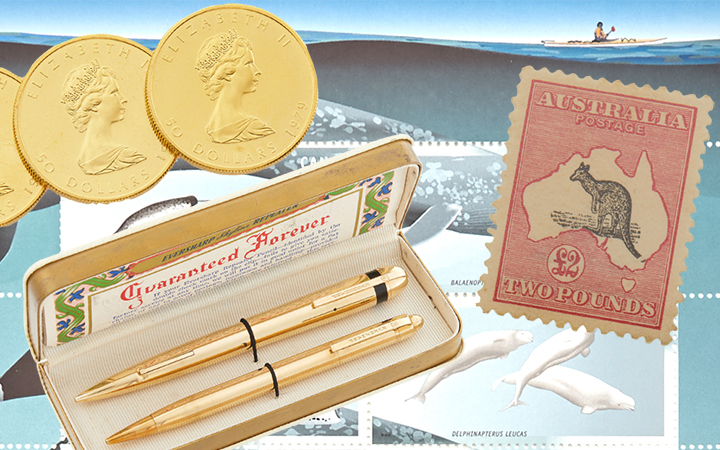 Image for the Collectible Coins, Pens, Medals & Stamps sale
