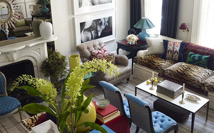 Image for the An Upper East Side Townhouse Decorated by Jeffrey Bilhuber                                        sale
