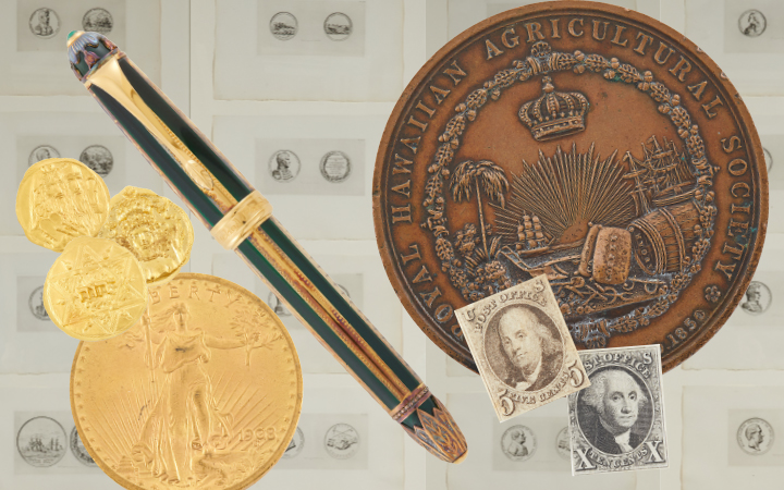 Image for the Coins, Medals & Postage Stamps sale