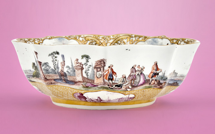 Image for the The Sarah Belk Gambrell Collection of European Porcelain sale