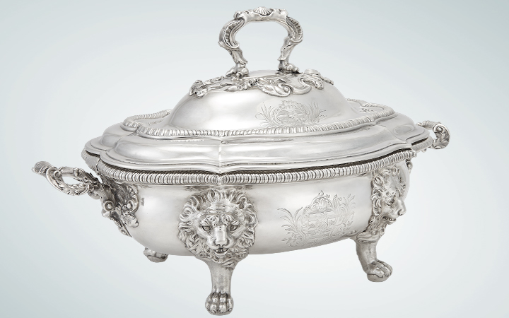 George III Silver Tureen, Paul Storr