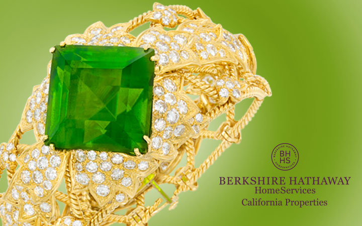 Gold, Diamond and Peridot Cuff Bracelet, David Webb