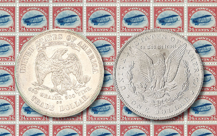 Coins, Bank Notes and Stamps Consignment Day / Sept 9 in Palm Beach