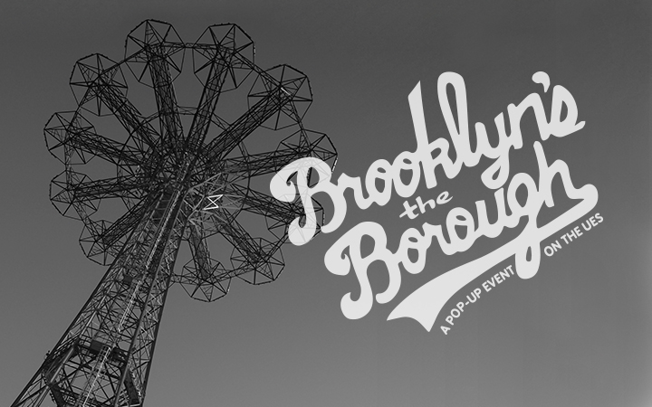 Image for event - Brooklyn's The Borough: A Pop-up Event on the UES