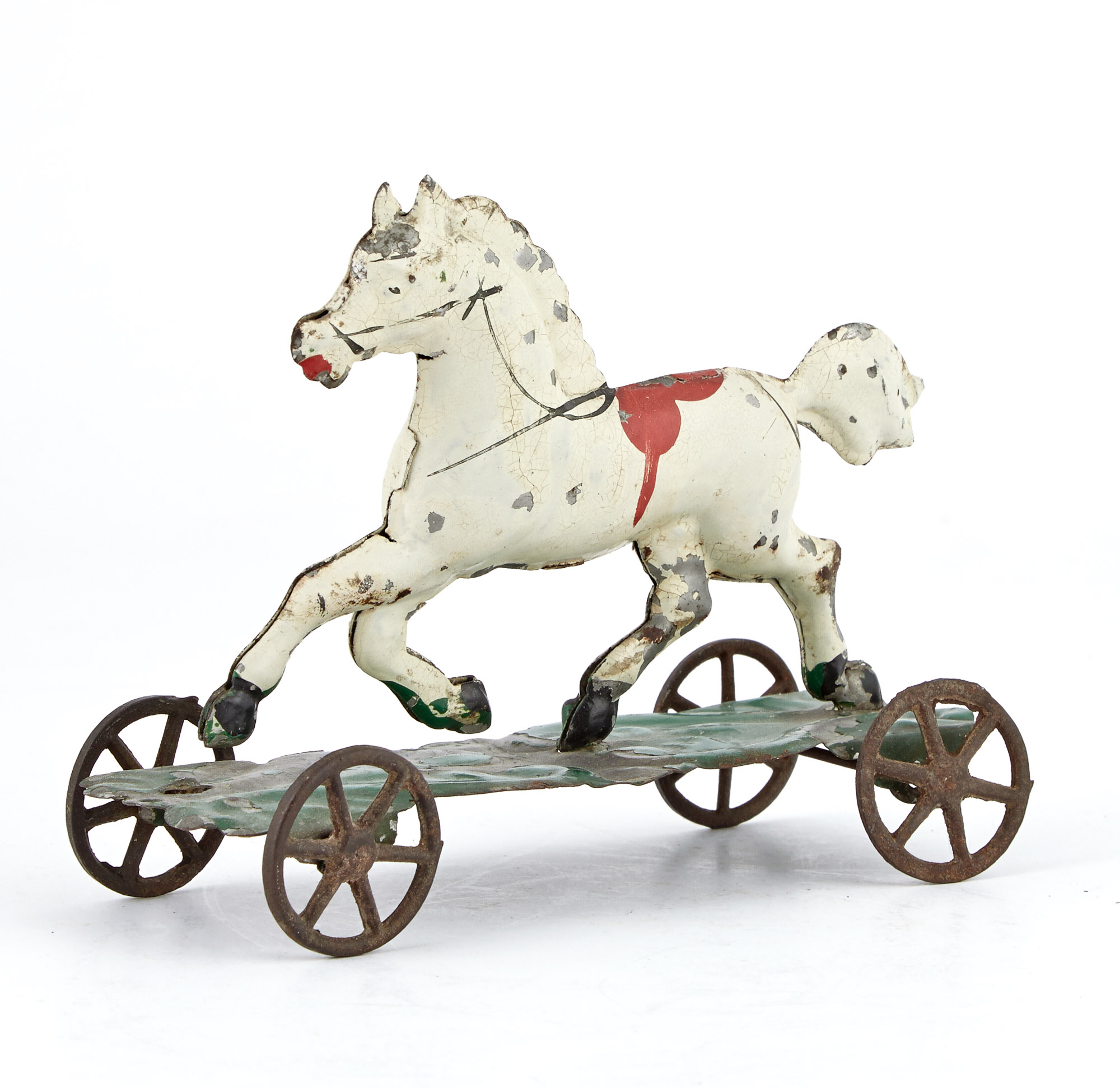 Lot image - Running Steed Tin Toy