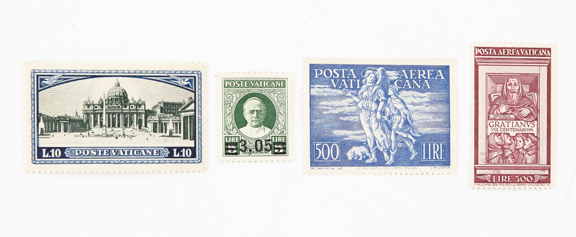 Lot image - Vatican City Postage Stamp Collection 1929 to 1961