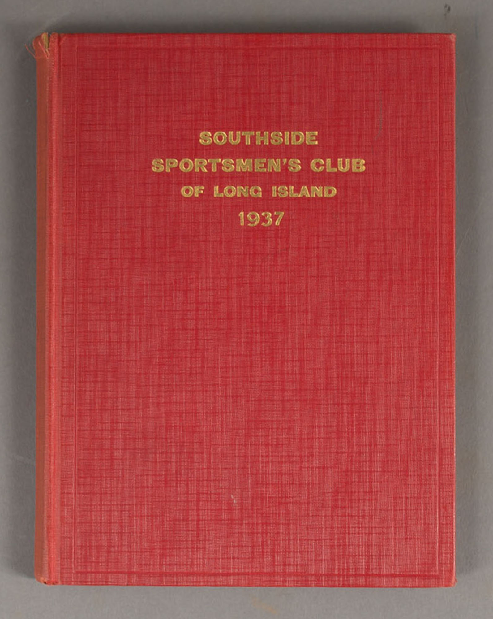 Lot image - [ANON]  Southside Sportsmens Club of Long Island: Constitution and Rules.