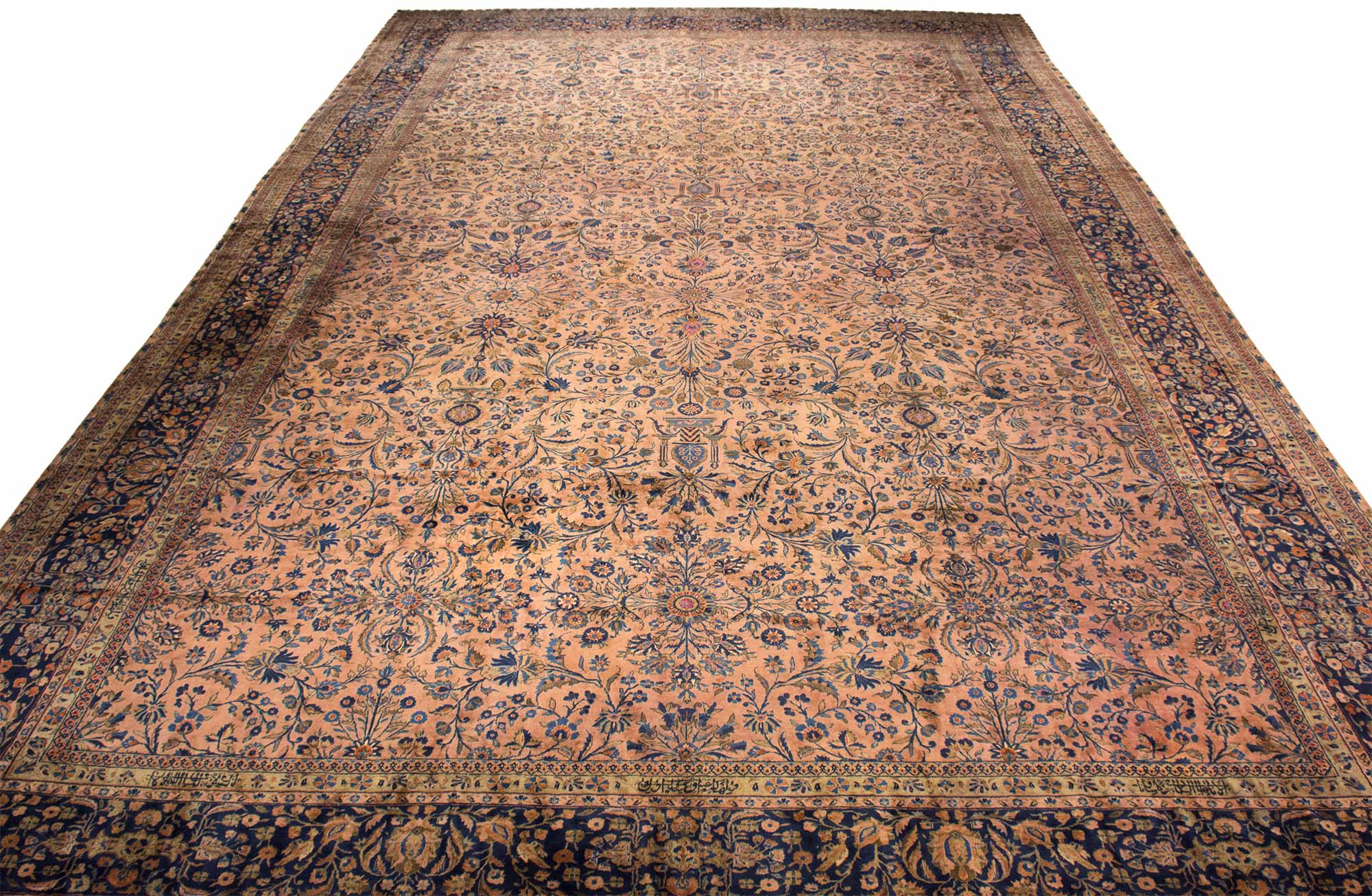 Lot image - Manchester Kashan Carpet