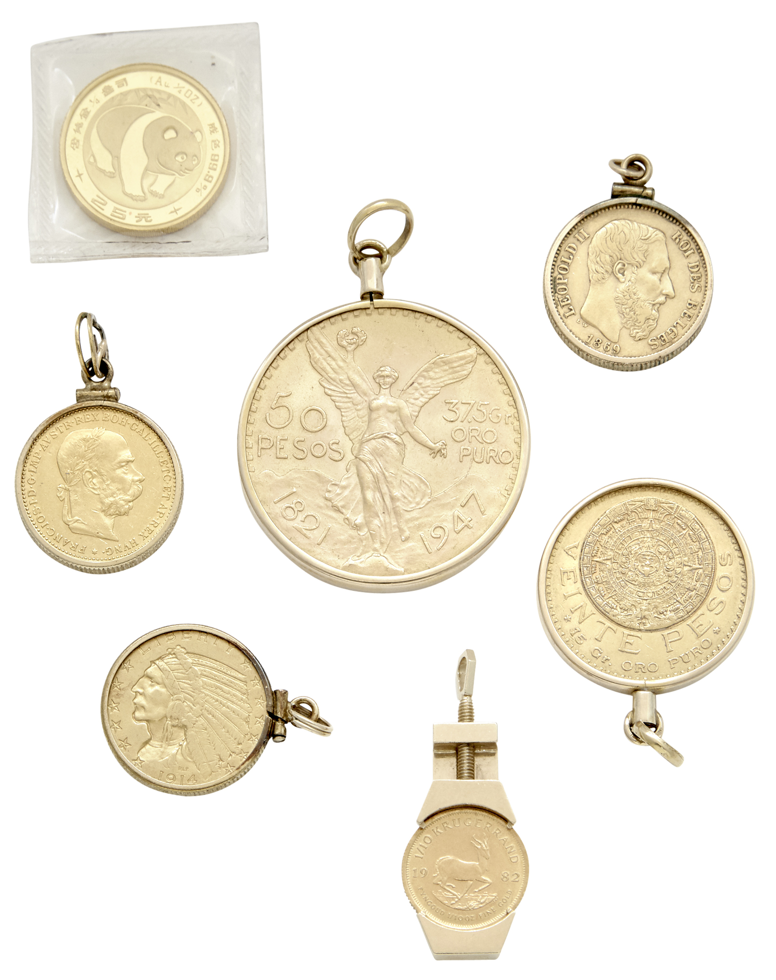 Lot image - Group of Gold Coins