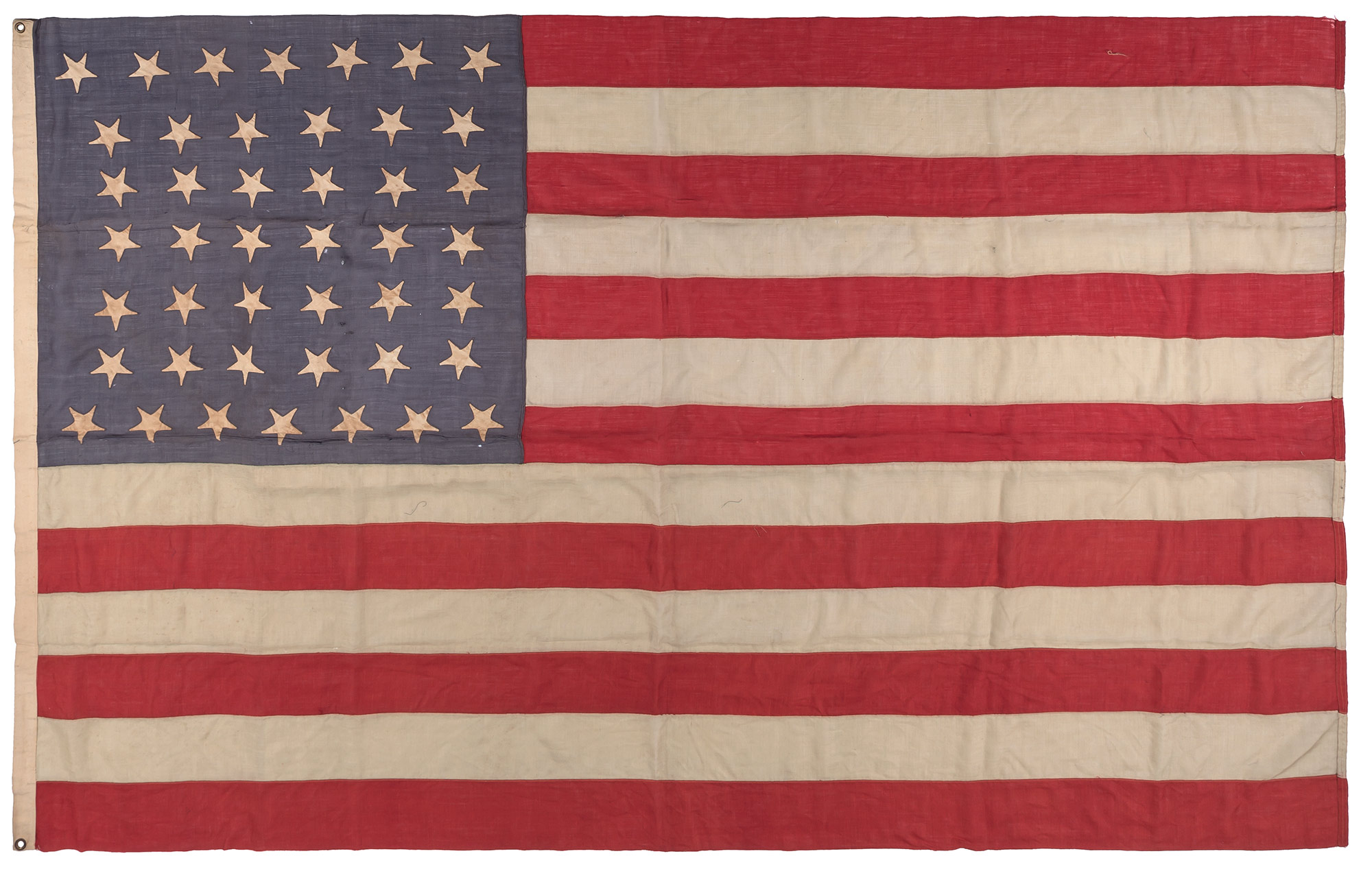 Lot image - [AMERICAN FLAG]  Forty-Four Star American Flag.
