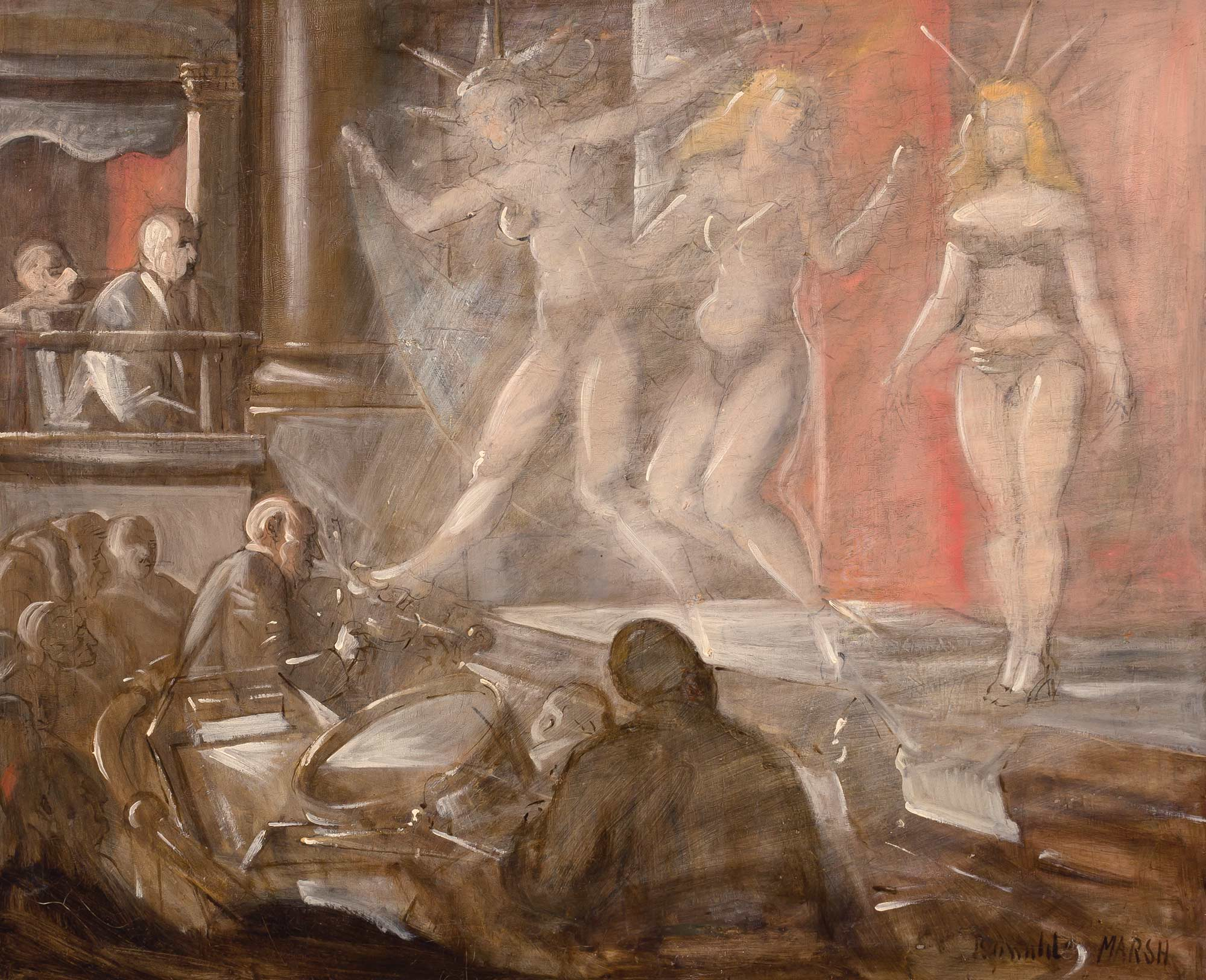 Lot image - Reginald Marsh