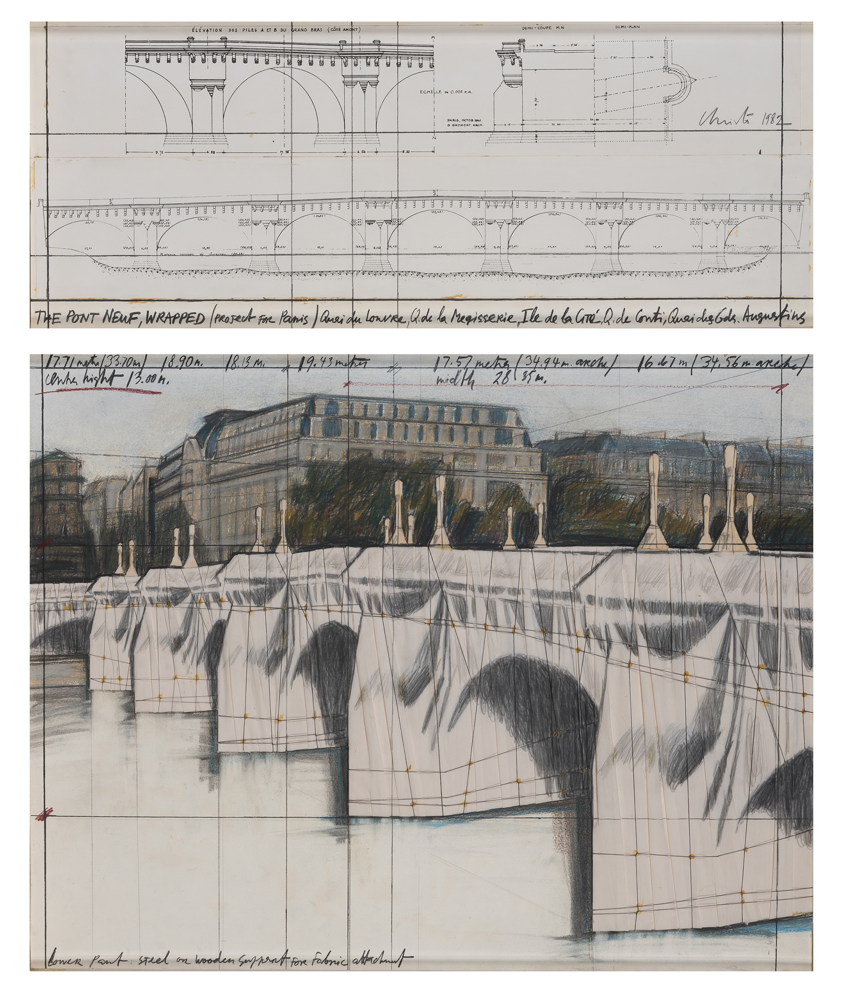 Lot image - Christo & Jeanne-Claude