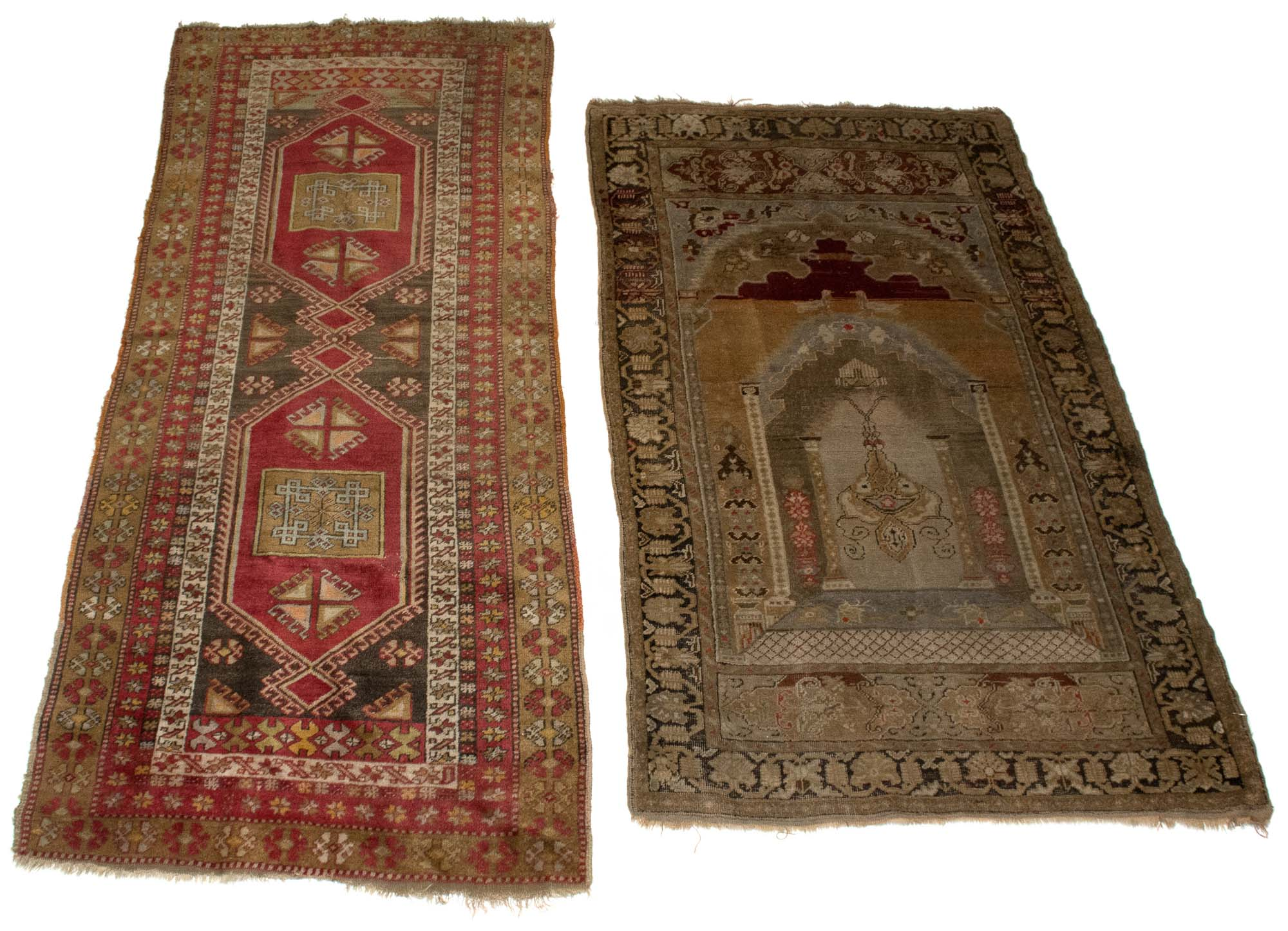 Lot image - Two Turkish Rugs
