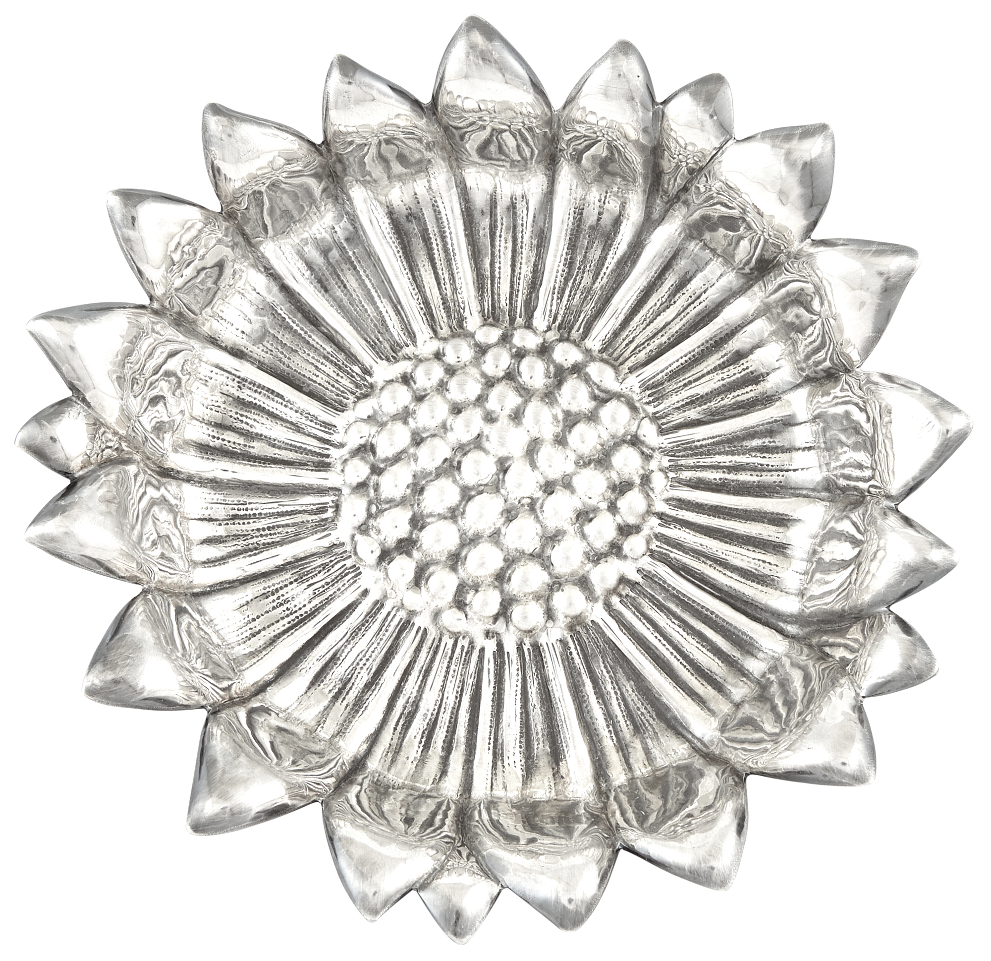 Lot image - Mario Buccellati Sterling Silver Flower Form Dish