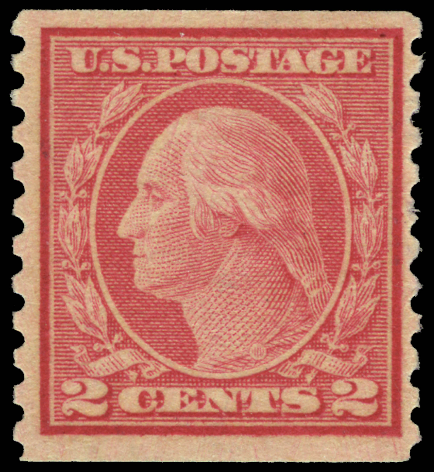 Lot image - United States 1916 2 Cents Type II Coil Scott 491