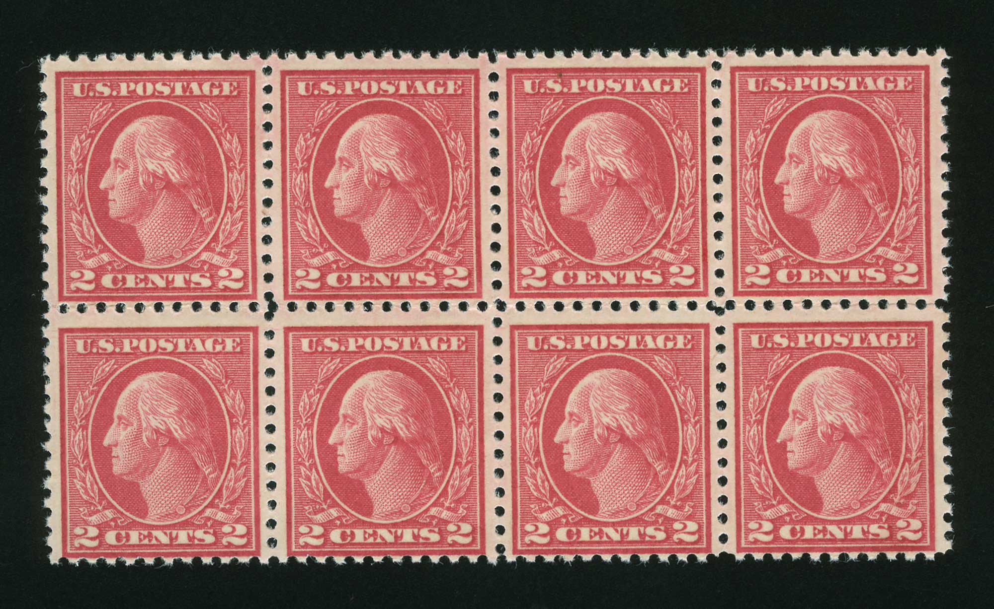 Lot image - United States 1917 2 Cents Deep Rose Scott 500
