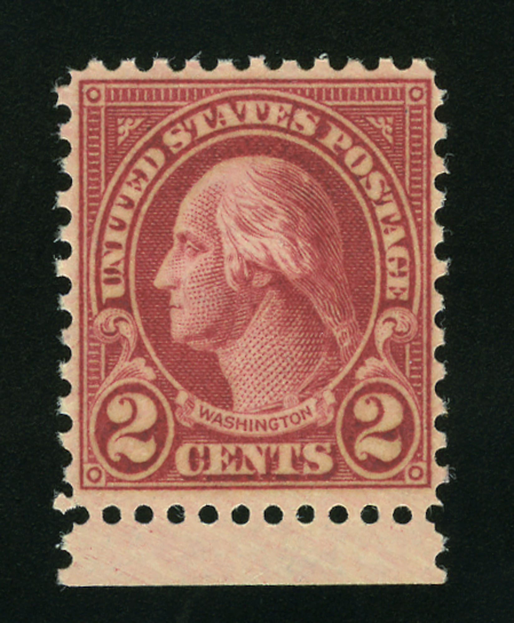 Lot image - United States 1928 2 Cents Type II Scott 634A