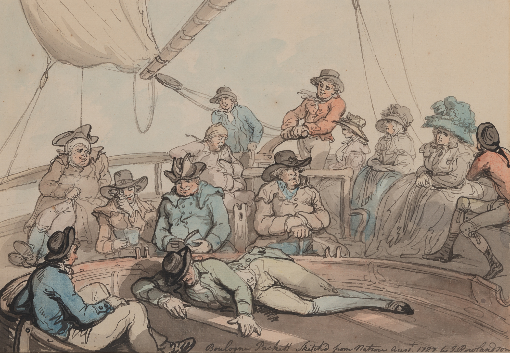 Lot image - Thomas Rowlandson