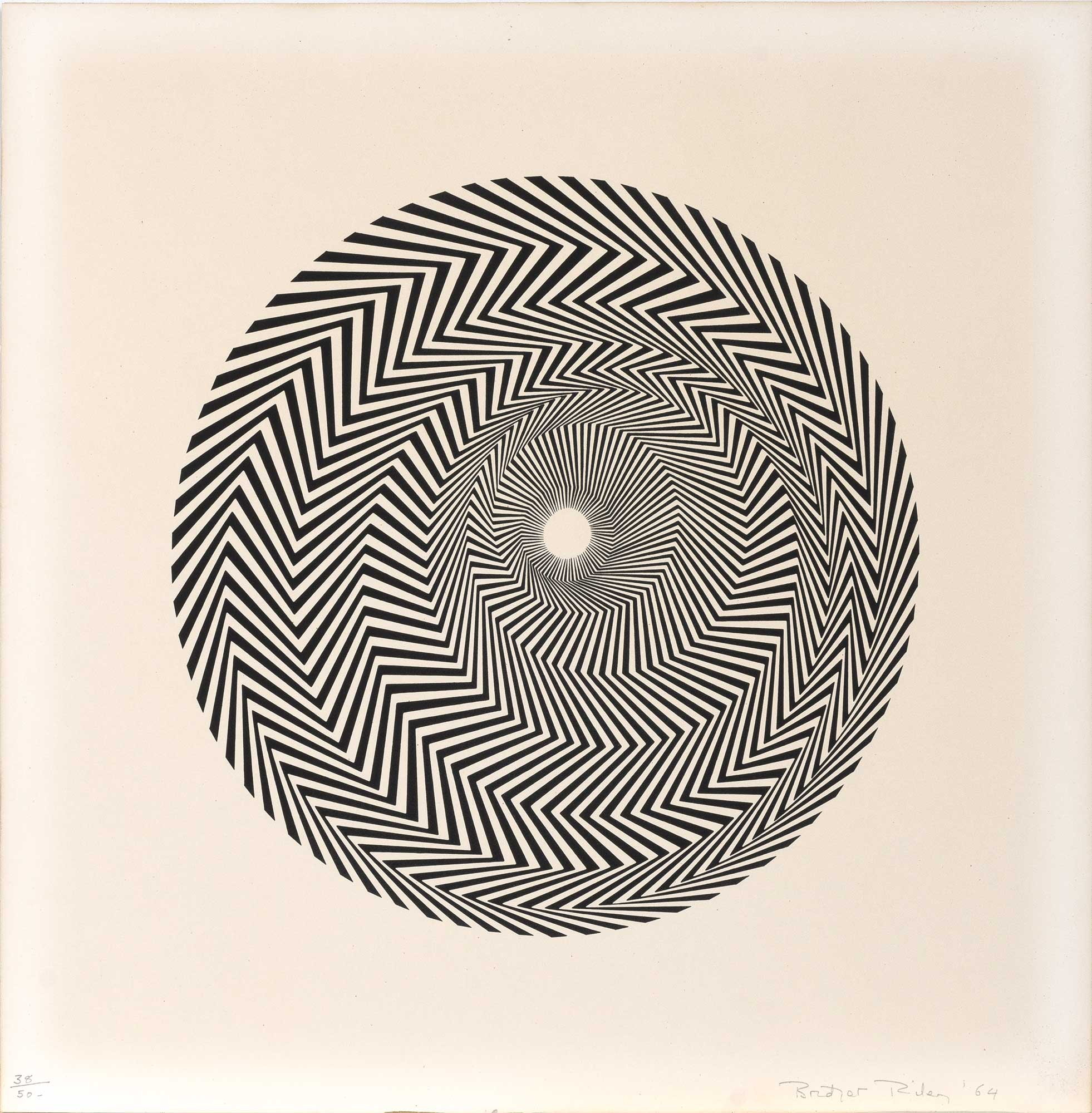 Lot image - Bridget Riley (b. 1931)