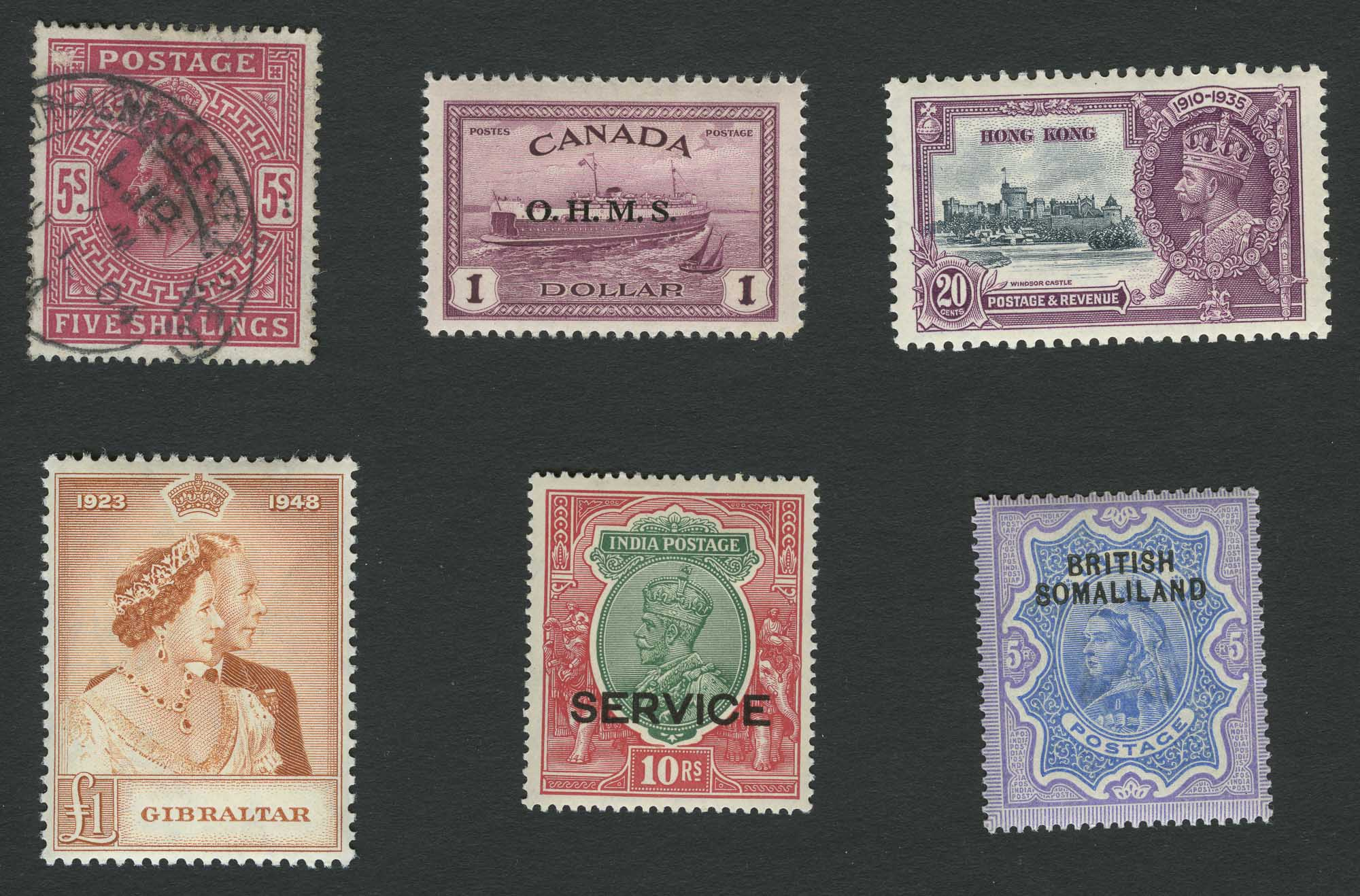 Lot image - British Commonwealth Postage Stamp Collections