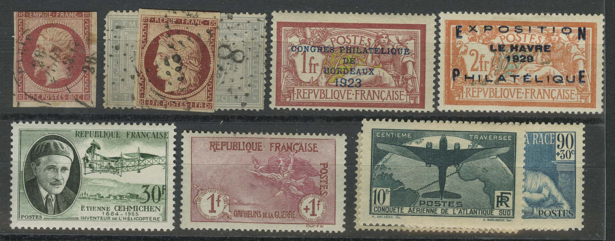 Lot image - France Postage Stamp Collection