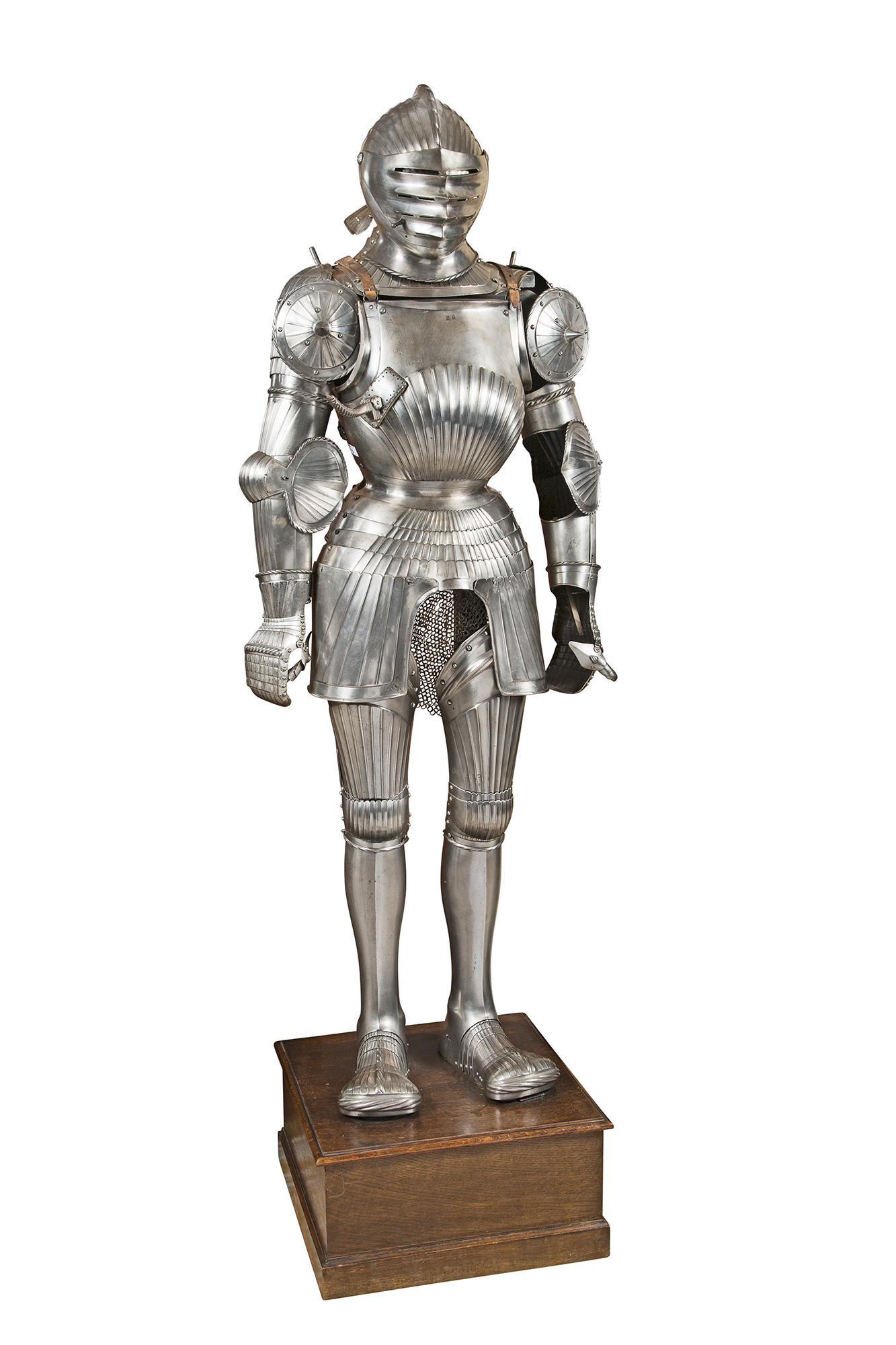Lot image - Composite Suit of Fluted Armor in the Maximilian style