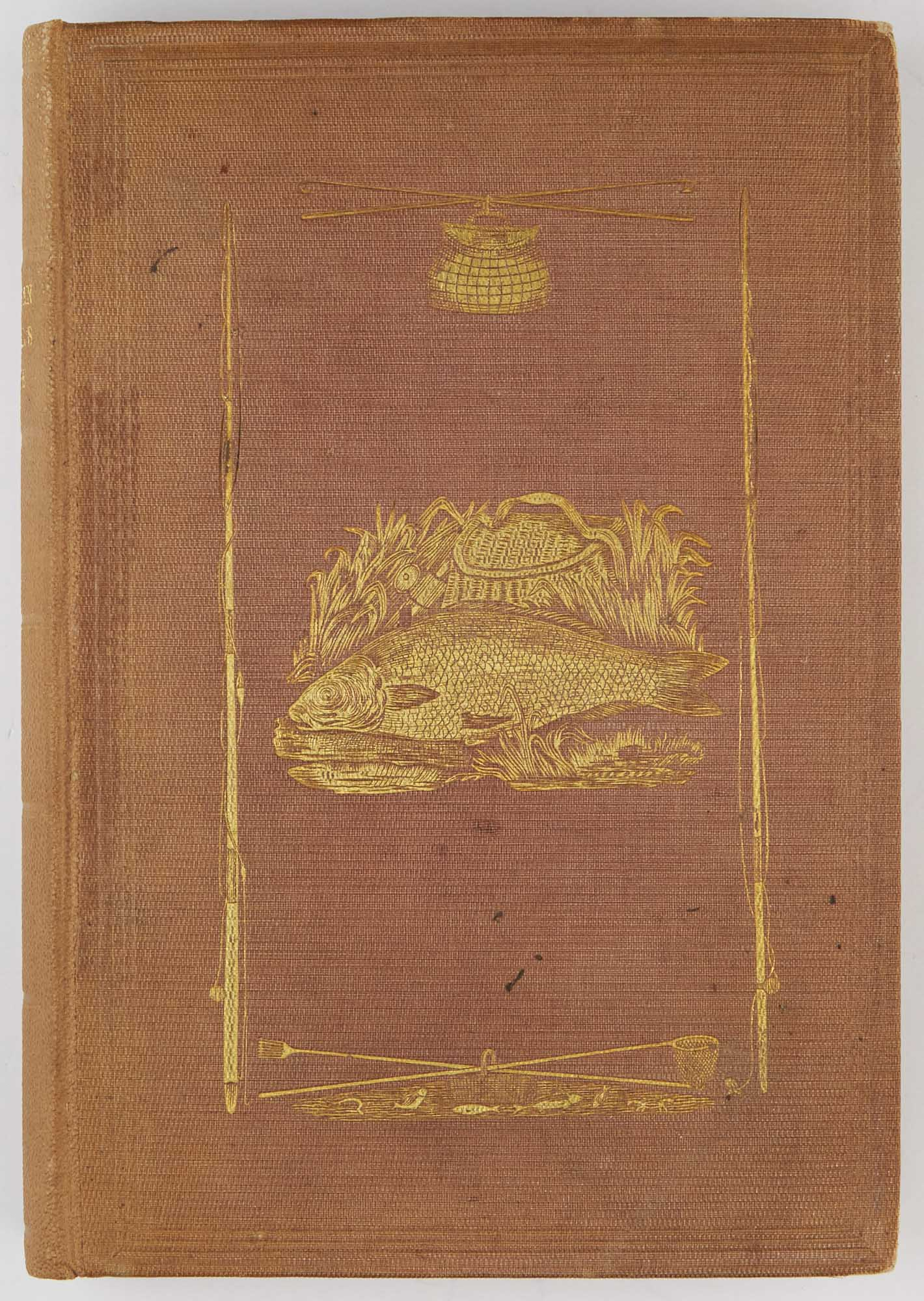Lot image - [AMERICAN ANGLING]  [BROWN, JOHN]. The American Anglers Guide; or, Complete Fishers Manual, for the United States: Containing the Opinions and Practices of Experienced Anglers in Both Hemispheres...
