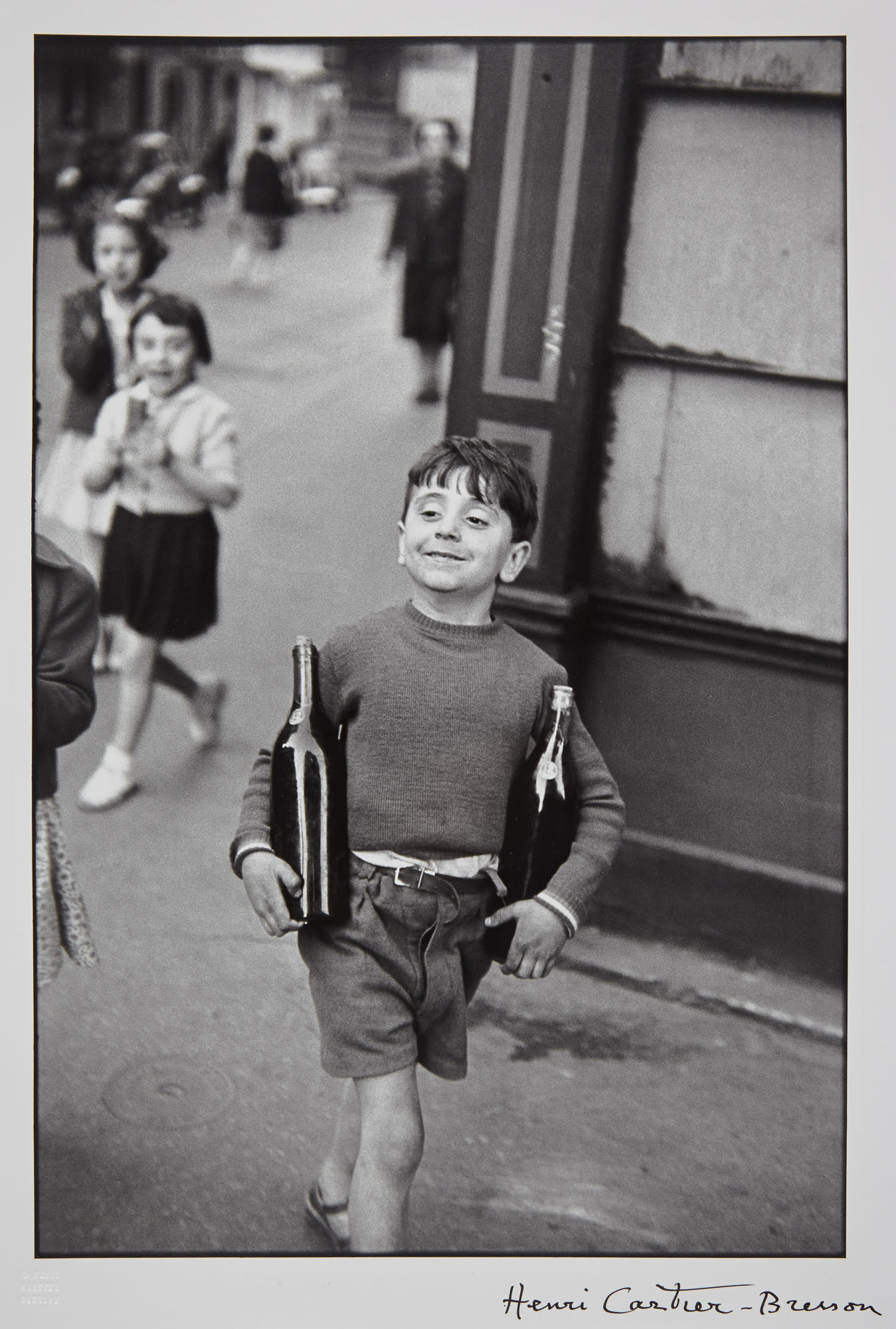 Lot image - CARTIER-BRESSON, HENRI (1908-2004)  Rue Mouffetard, Paris,