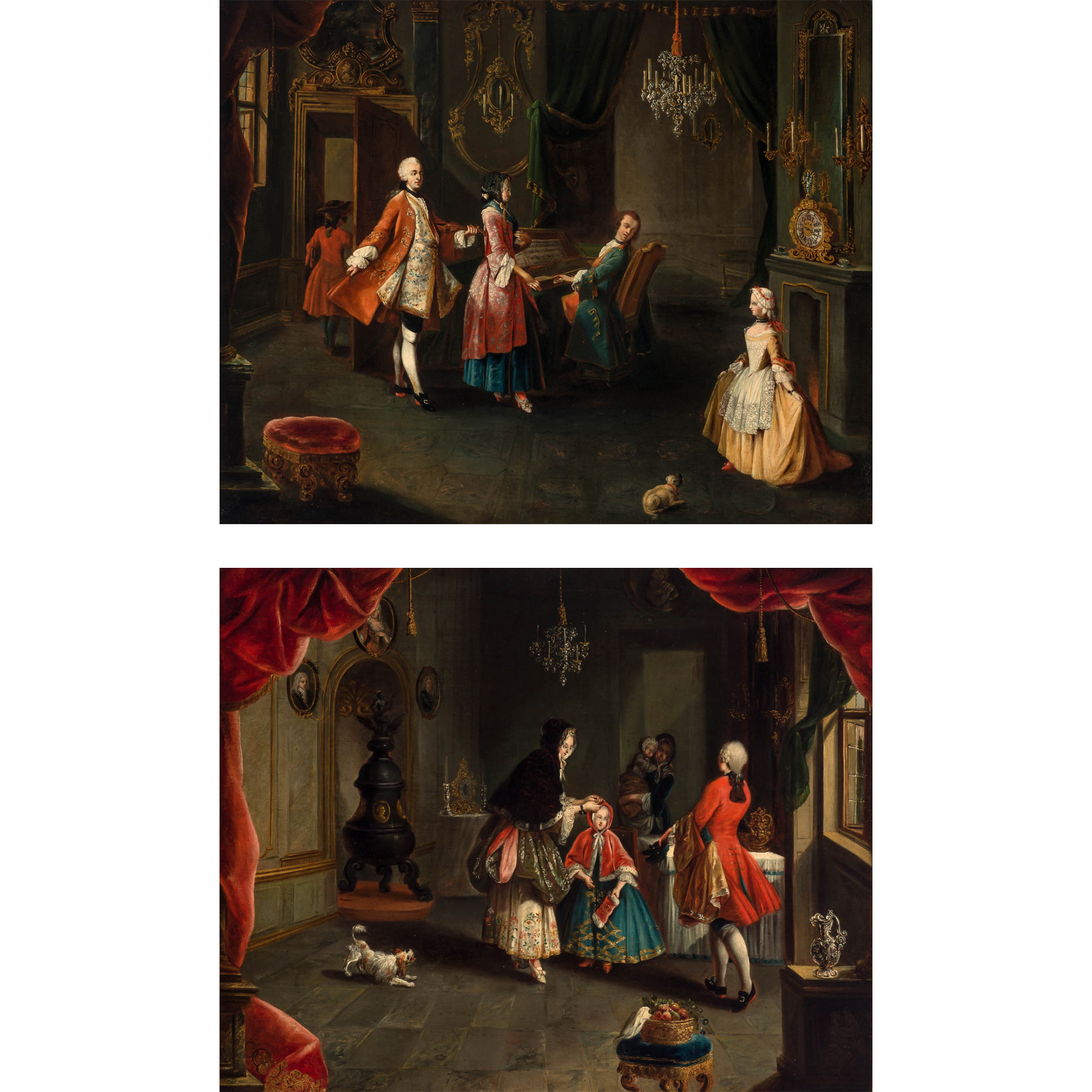 Lot image - Manner of Pietro Longhi