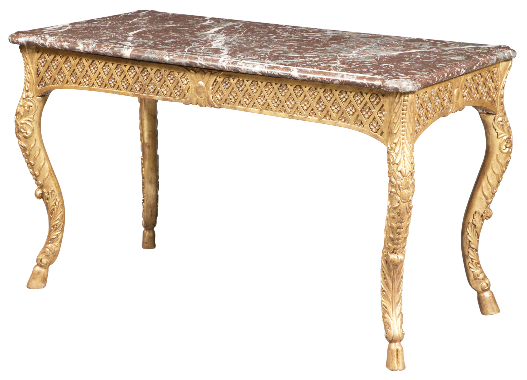 Lot image - Italian Giltwood Center Table