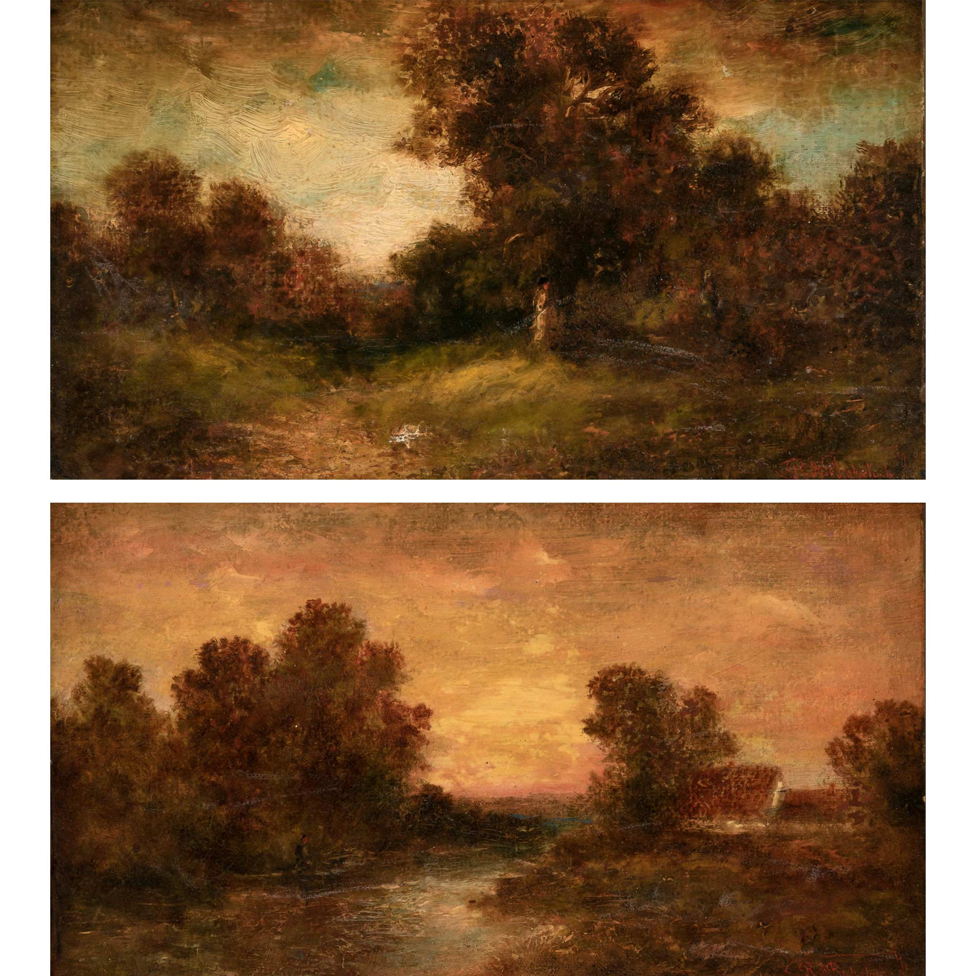 Lot image - Attributed to Ralph Albert Blakelock