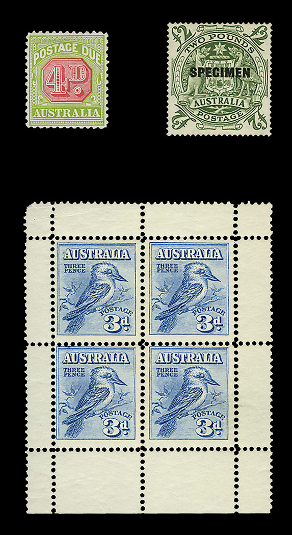 Lot image - Australia Stamp Collection