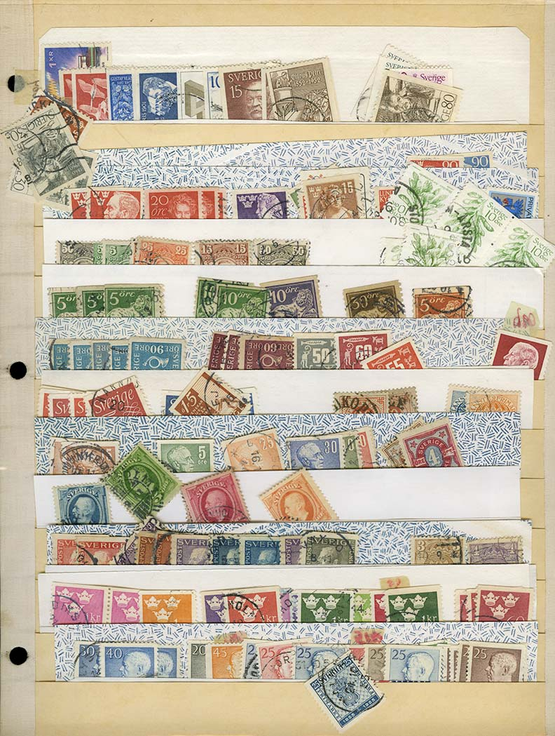 Lot image - Stamp Collection Balances