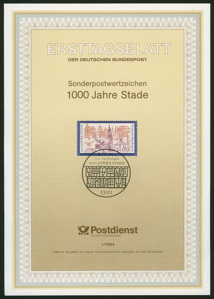 Lot image - Germany Ersttagsblatt Group