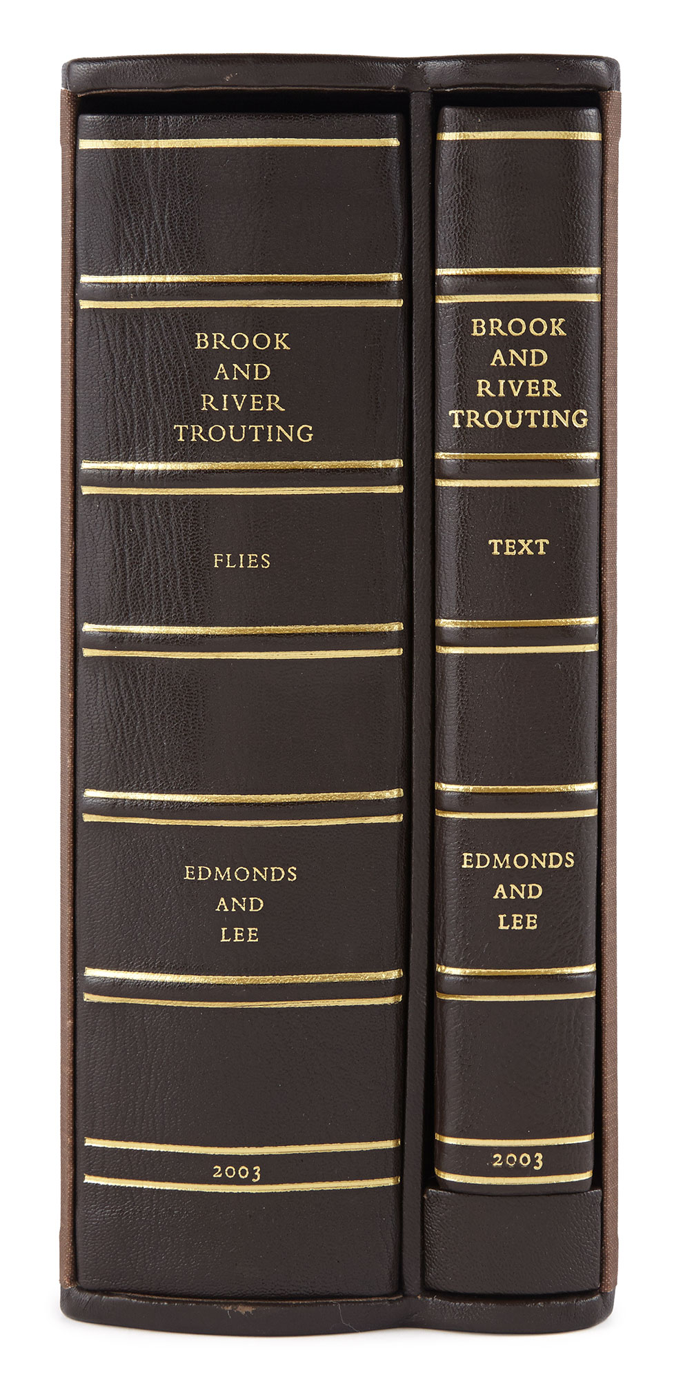 Lot image - EDMONDS, HARFIELD H. and LEE, NORMAN N.  Brook and River Trouting.