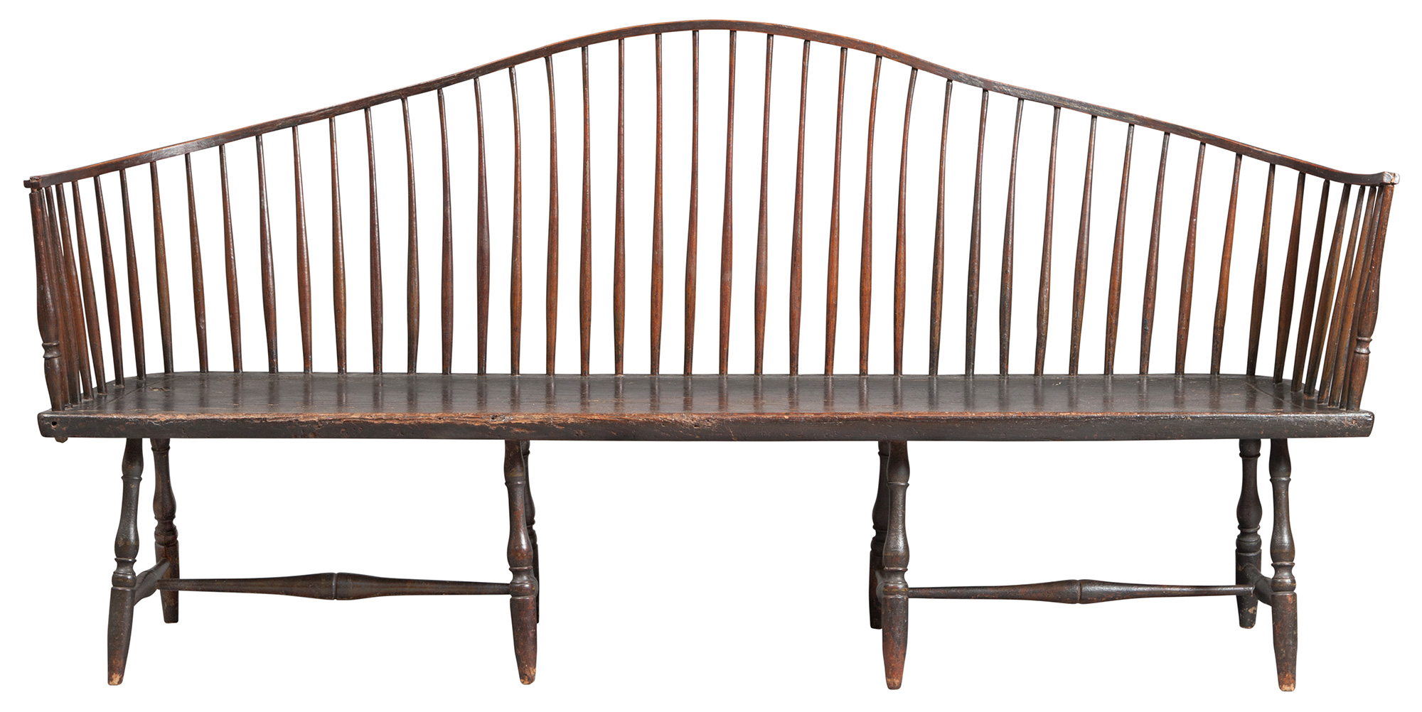 Lot image - Windsor Serpentine Settee