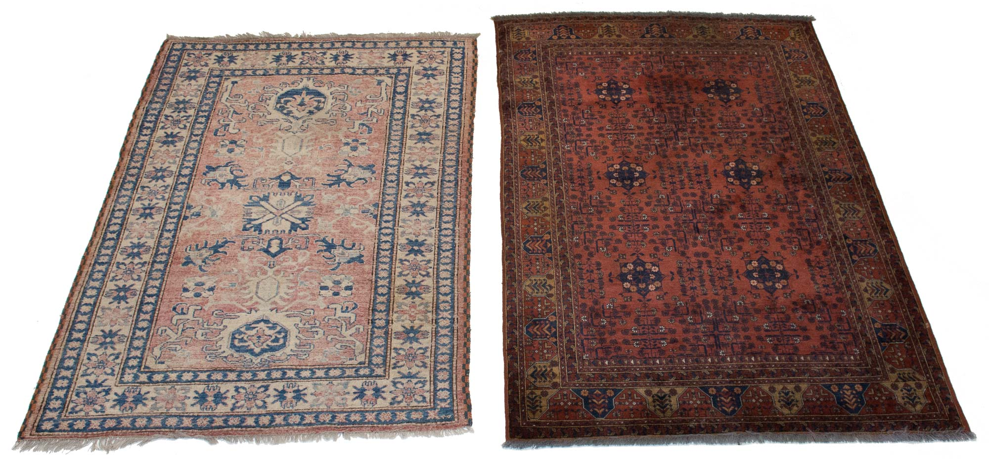 Lot image - Two Afghan Rugs