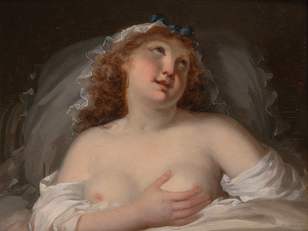 Lot image - School of Jean-Baptist Greuze