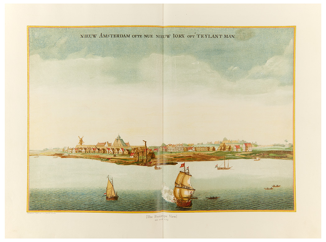 Lot image - [NEW YORK]  STOKES, I. N. PHELPS. The Iconography of Manhattan Island, 1498-1909.