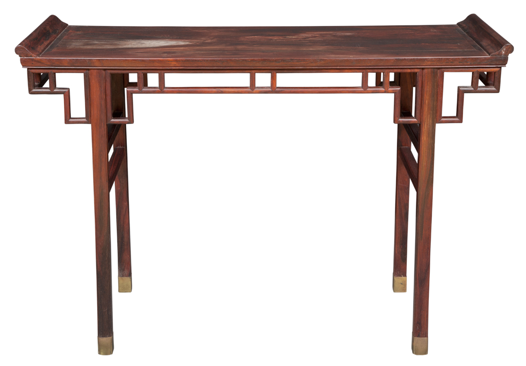 Lot image - Chinese Hongmu Table