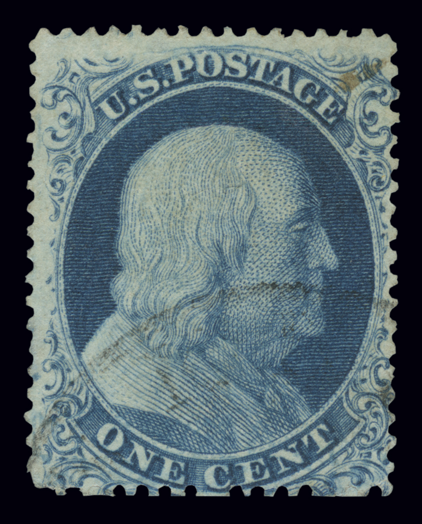 Lot image - United States 1857 One Cent Type 1a, Scott 19