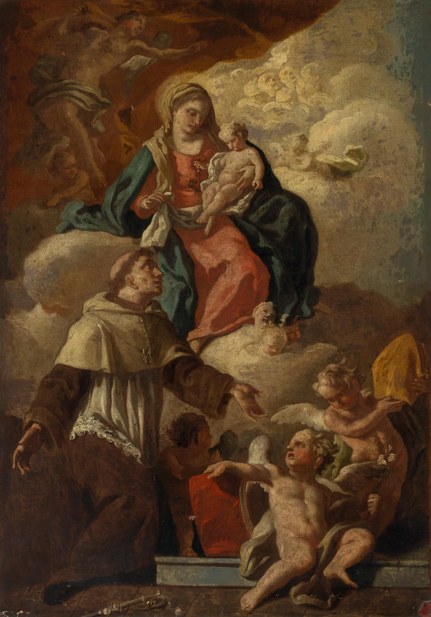 Lot image - Attributed to Francesco Solimena