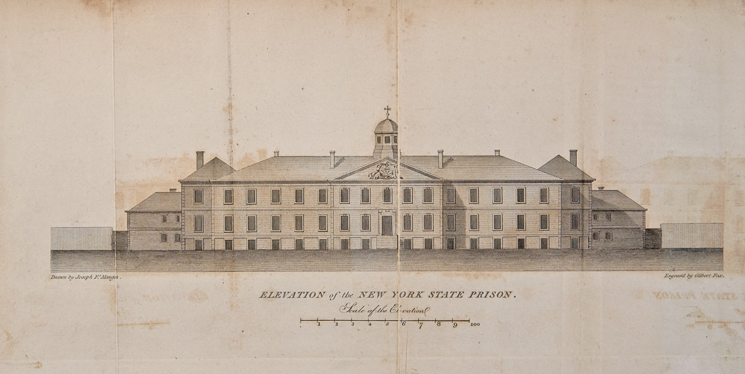 Lot image - [EDDY, THOMAS]  An Account of the State Prison, or Penitentiary House, in N. Y. City, by one of the Inspectors of the Prison.