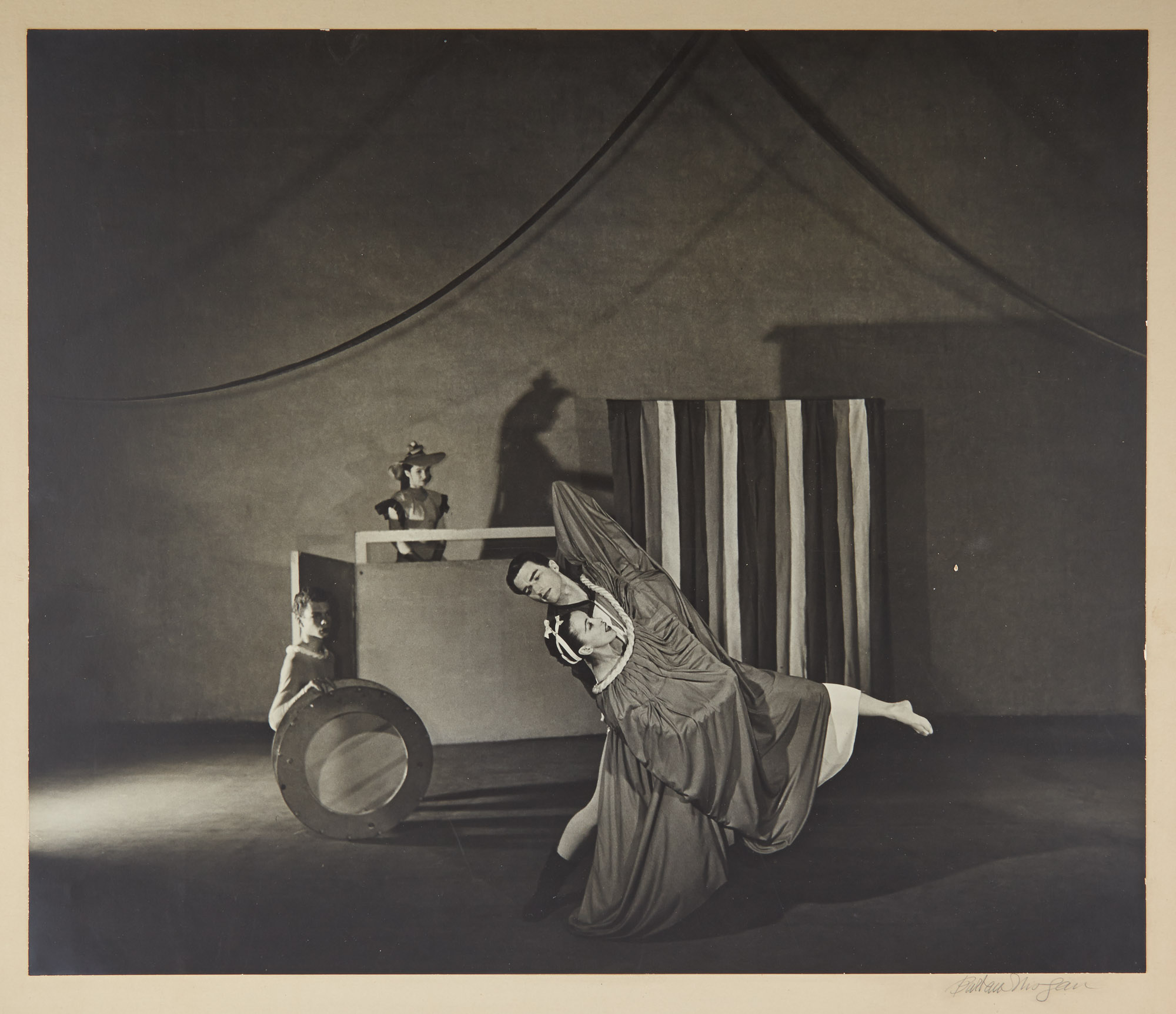 Lot image - DANCE PHOTOGRAPHY-GRAHAM, MARTHA  An interesting group of approximately 12 photographs of Martha Graham,
