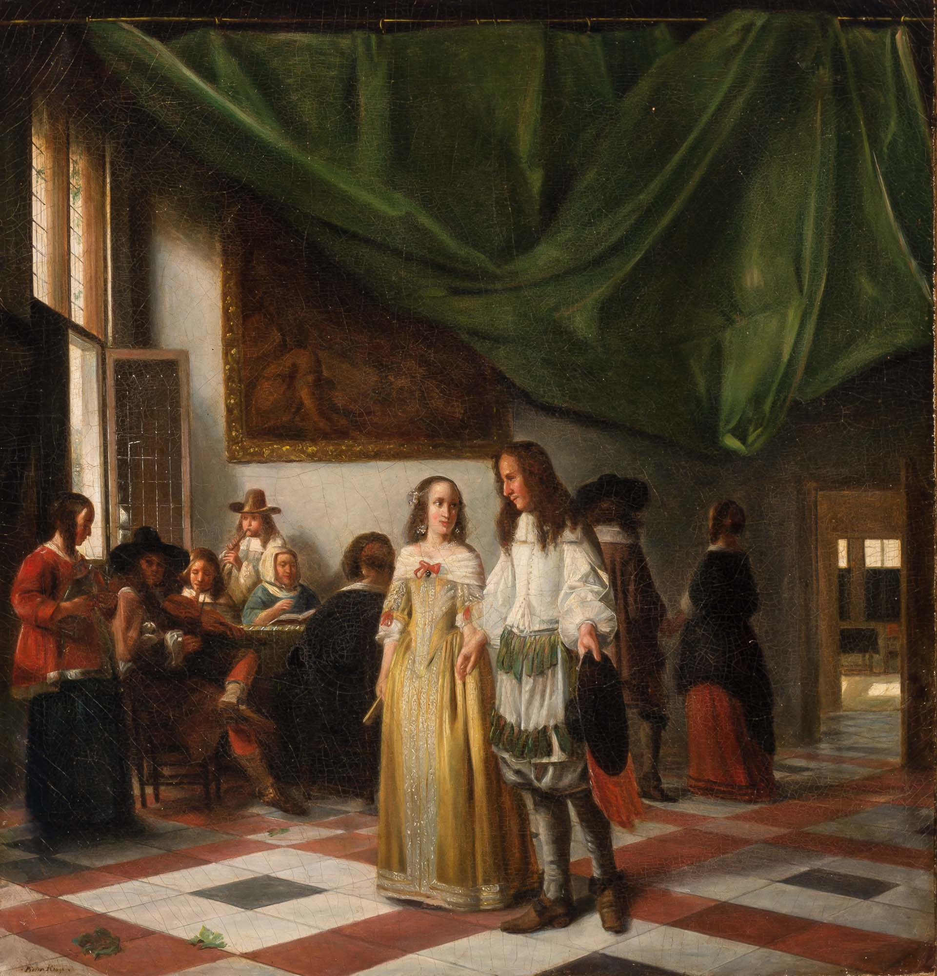 Lot image - Manner of Pieter de Hooch