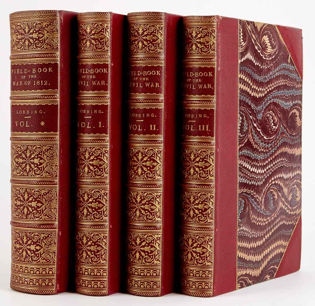 Lot image - [BINDINGS]  Four attractively bound sets.