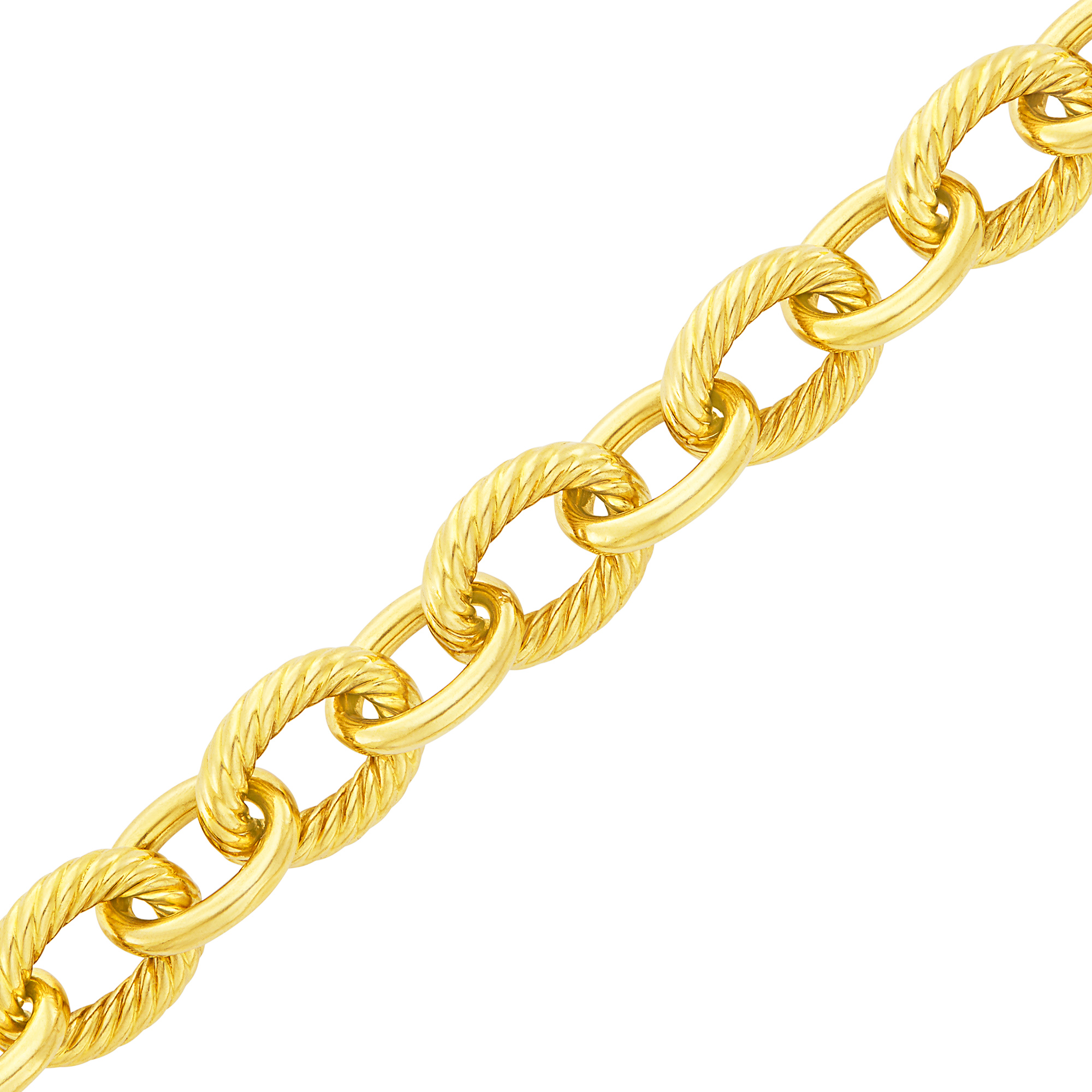 Lot image - Gold Link Bracelet, David Yurman